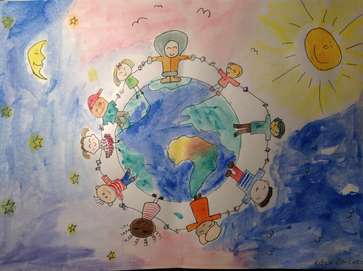 Фото дети о мире
