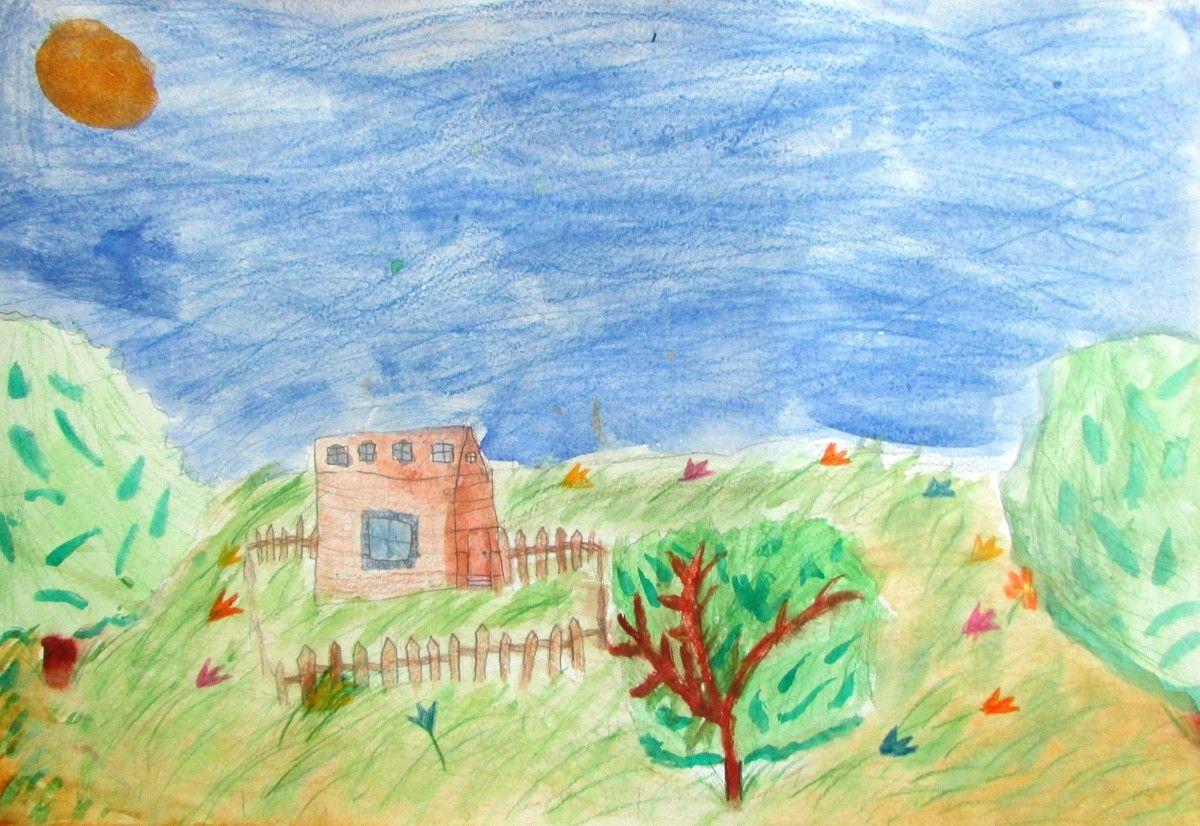 Конкурс детского патриотического рисунка моя великая родина